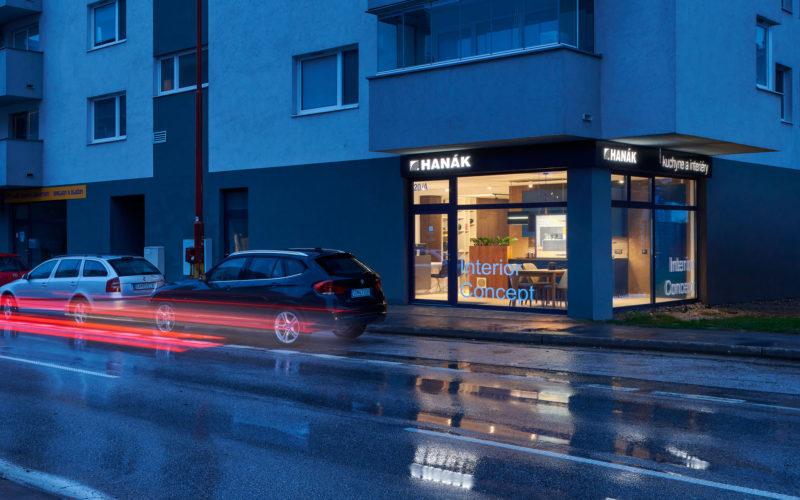 Nový showroom HANÁK v Bratislave